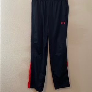 Under armor youth lge sweatpants drawstring waist